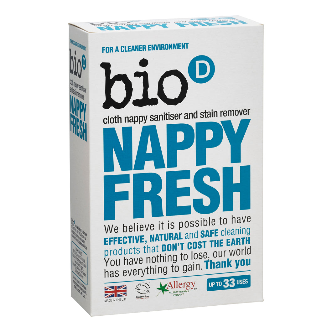 Bio-D Nappy Fresh for Reusable Nappies - 500g