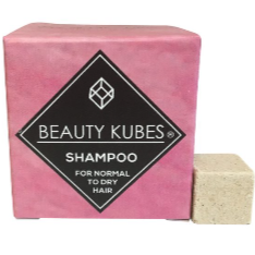 Plastic-Free Shampoo Cubes for Normal and Dry Hair, the-cleaning-cabinet