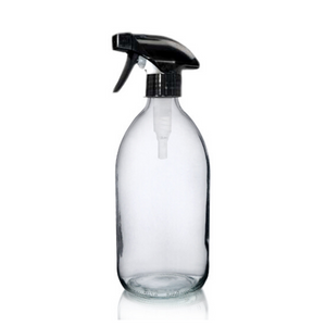Glass Bottle (1000ml) with Trigger Spray