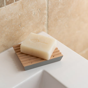 Natural, Wooden Hand Made Soap Dish - UK Made