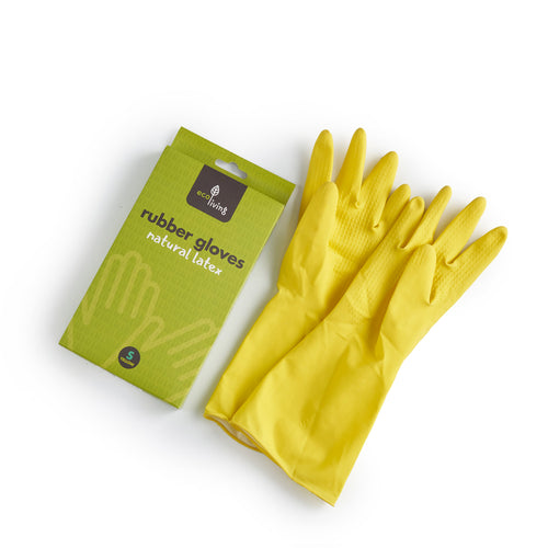 Plastic-Free Natural Latex Rubber Gloves