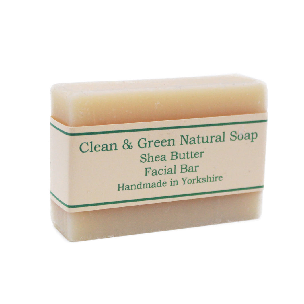 Natural Facial Soap Bar by Clean & Green, the-cleaning-cabinet