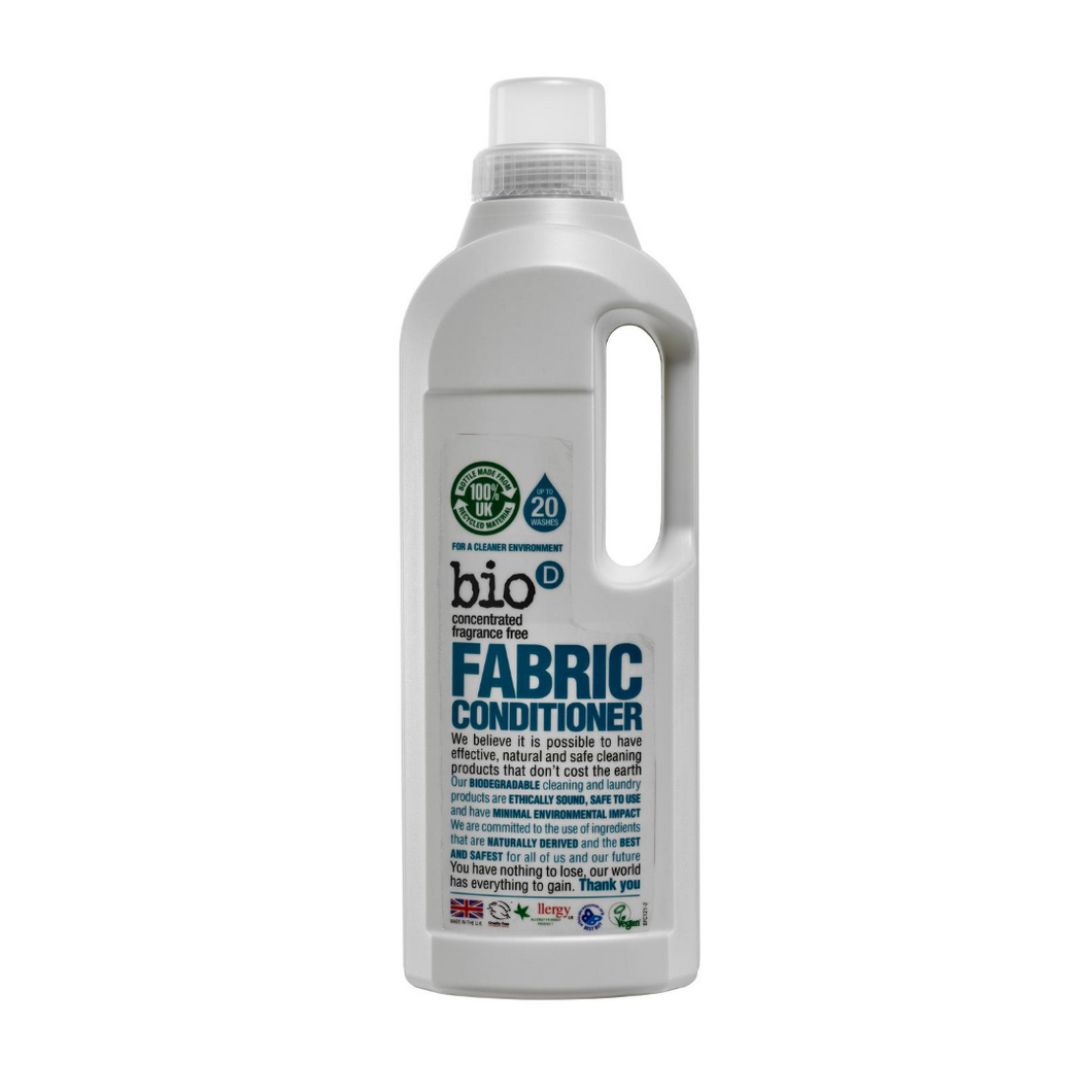 Bio-D Fabric Conditioner (Fragrance-free) - 1 Litre