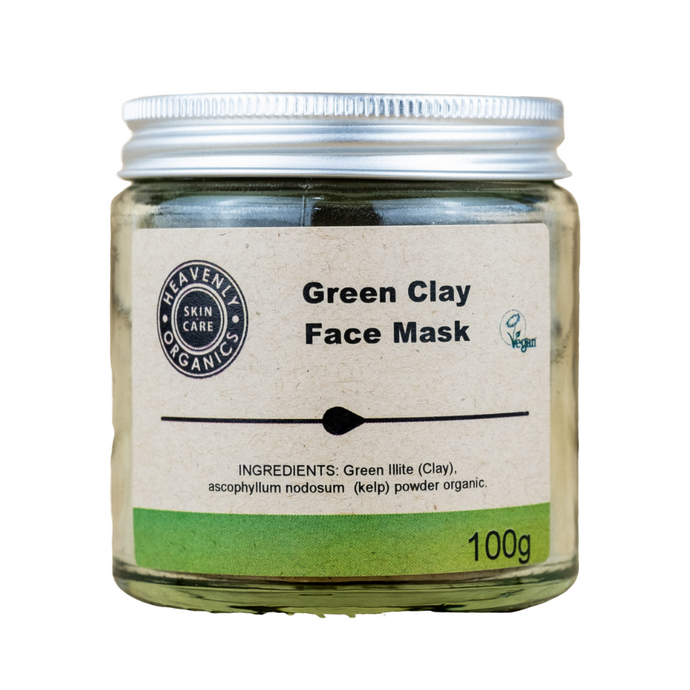 Organic Green Clay Face Mask