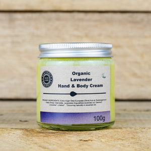 Organic Hand & Body Cream, the-cleaning-cabinet