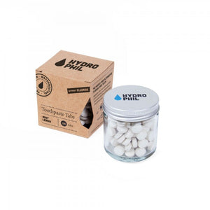 Vegan & Plastic-free Toothpaste Tabs (130 tabs) in Glass Jar, the-cleaning-cabinet