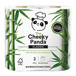 Cheeky Panda Bamboo Kitchen Rolls, the-cleaning-cabinet