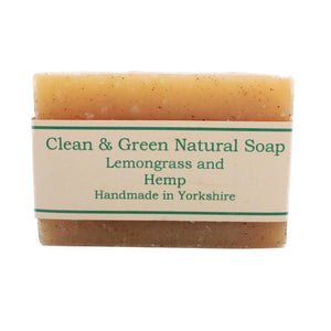 Natural & Vegan Soap Bars by Clean & Green, the-cleaning-cabinet