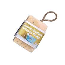Load image into Gallery viewer, Natural Soap On a Rope, the-cleaning-cabinet