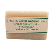 Load image into Gallery viewer, Natural Shaving Bar by Clean & Green