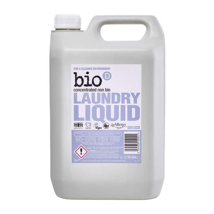 Non-Bio Laundry Liquid by Bio-D, the-cleaning-cabinet