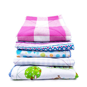 Reusable Cotton Kitchen Towels (6 Pack), the-cleaning-cabinet