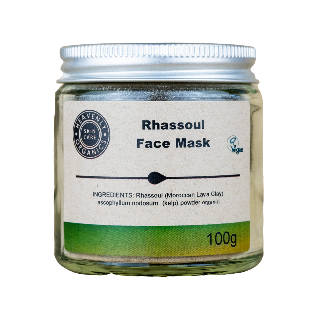 Organic Rhassoul Clay Face Mask