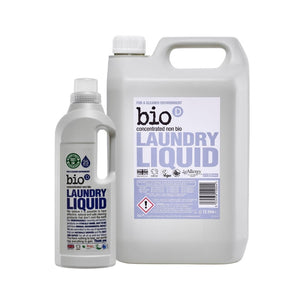 Bio-D Laundry Liquid (Fragrance-free) - Refill Bundle