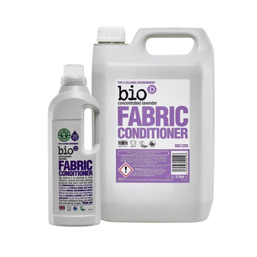 Bio-D Fabric Conditioner (Lavender) - Refill Bundle