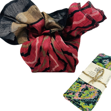 Load image into Gallery viewer, Reusable Fabric Gift Wrap - Reclaimed and Fair Trade