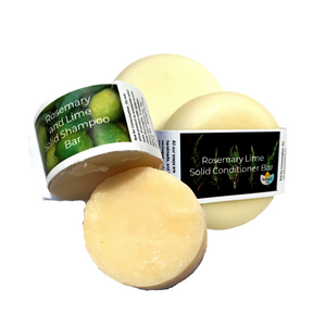Natural Spa Shampoo and Conditioner Bar Bundle