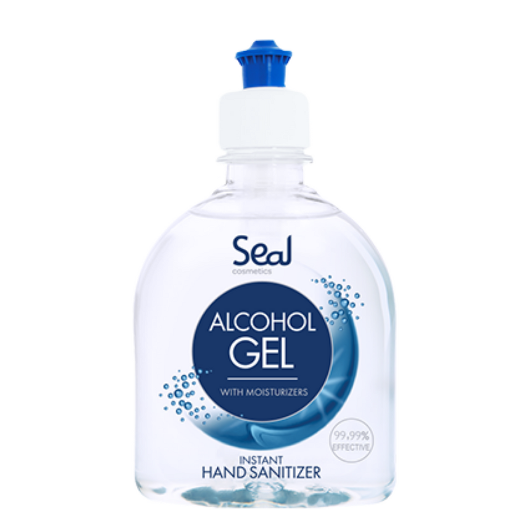 Alcohol Hand Sanitiser Gel (300ml) with Moisturisers, the-cleaning-cabinet