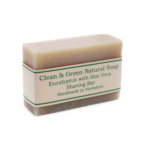 Natural Shaving Bar by Clean & Green, the-cleaning-cabinet