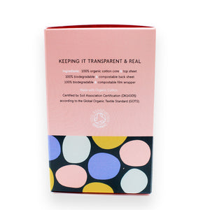 Organic Panty Liners by &Sisters