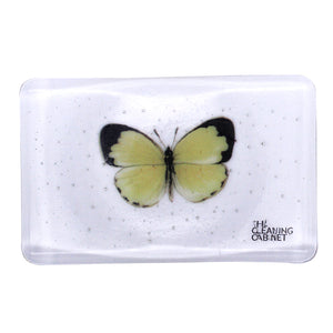 Fused Glass Soap Dish, the-cleaning-cabinet