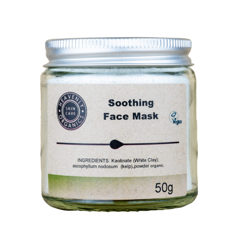 Organics Soothing Face Mask, the-cleaning-cabinet