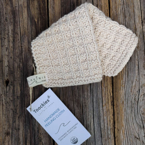 Toockies Organic Handknitted Exfoliating Cloth, the-cleaning-cabinet