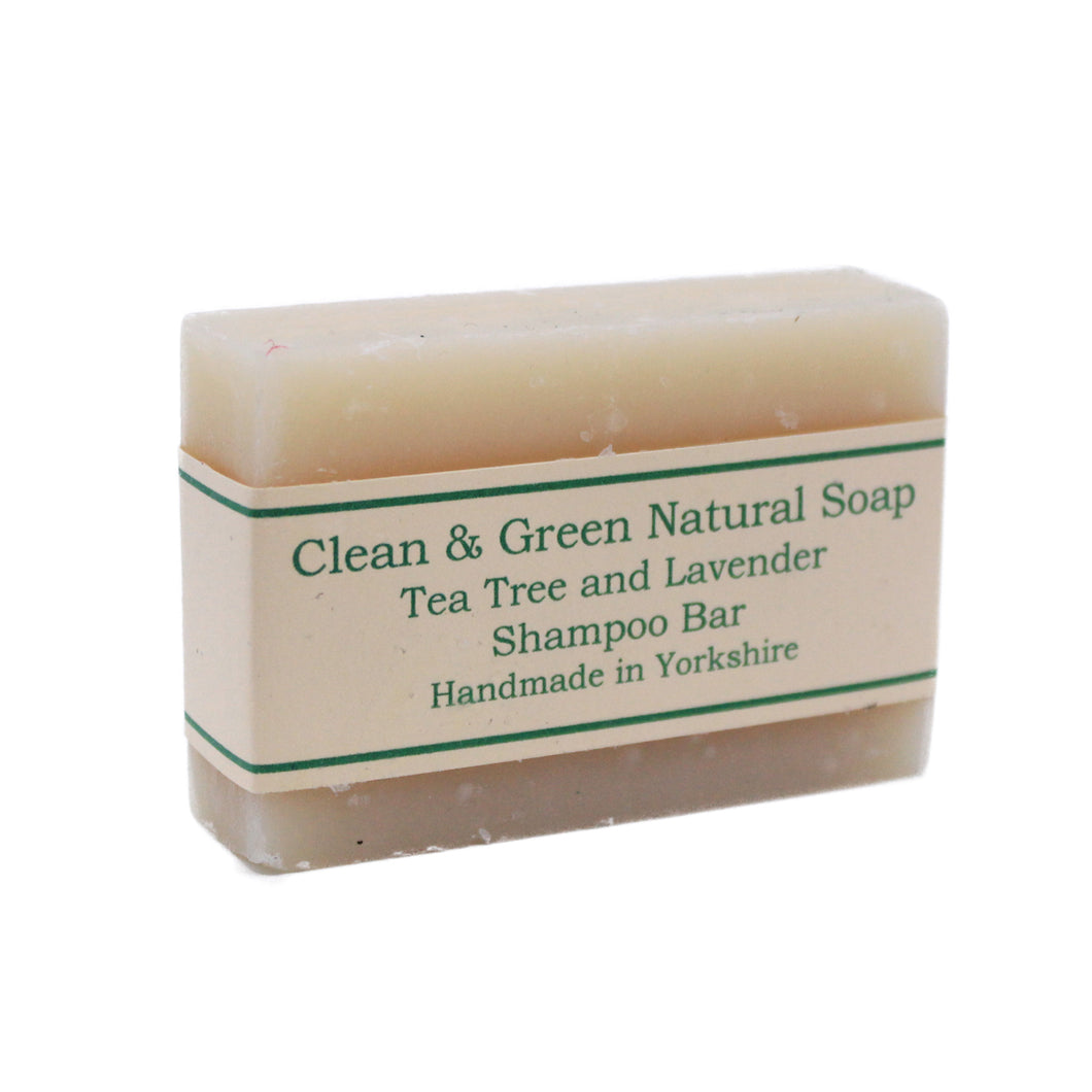 Natural Shampoo Bar by Clean & Green, the-cleaning-cabinet