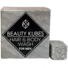 Load image into Gallery viewer, Plastic Free Hair & Body Wash Cubes for Men, the-cleaning-cabinet