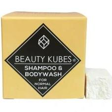 Plastic Free Body Wash & Shampoo Cubes for Normal Hair, the-cleaning-cabinet