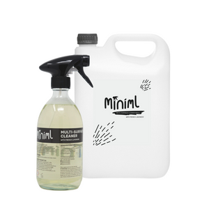 Miniml Eco Anti-Bacterial Multi-Surface Cleaner - Refill Bundle