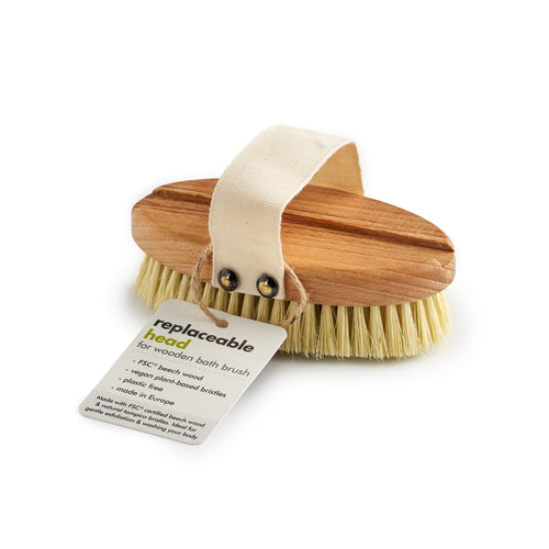 Bath Brush Replacement Head (FSC 100%)