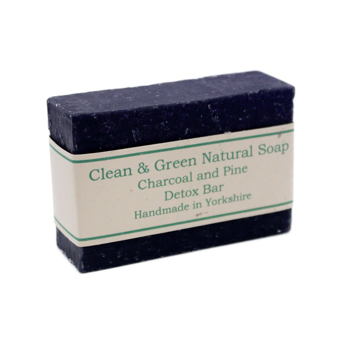 Detox Natural Soap Bar by Clean & Green, the-cleaning-cabinet