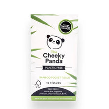 Load image into Gallery viewer, Cheeky Panda Pocket Tissue (Plastic-Free)