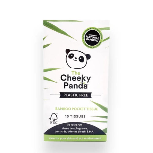 Cheeky Panda Pocket Tissue (Plastic-Free), the-cleaning-cabinet
