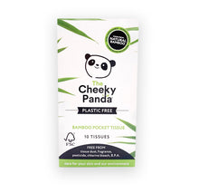 Load image into Gallery viewer, Cheeky Panda Pocket Tissue (Plastic-Free), the-cleaning-cabinet