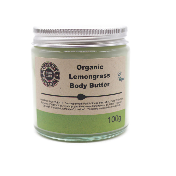 Organic Body Butter by Heavenly Organics