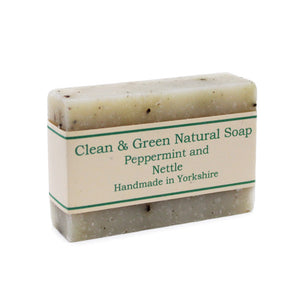 Peppermint and Nettle Soap Bar