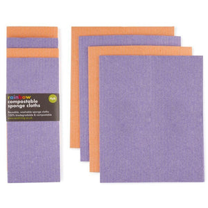 Compostable Sponge Cleaning Cloths (Multi-Packs)