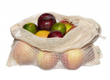 Load image into Gallery viewer, Organic Cotton Net Bag | Produce Bag | Wash Bag