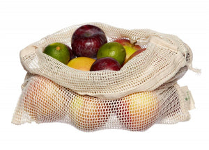 Organic Cotton Net Bag | Produce Bag | Wash Bag
