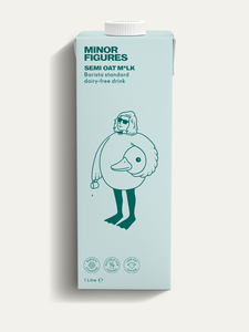 Minor Figures Semi Skimmed Barista Oat Milk 1L