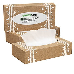 GreenCane Sustainable Facial Tissues, the-cleaning-cabinet