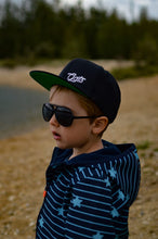 Laden Sie das Bild in den Galerie-Viewer, Simply GATS Snapback Black KIDS Edition