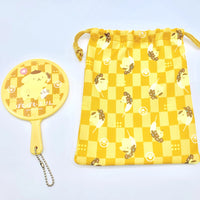 Pompompurin Mirror & Drawstring Bag