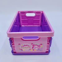 My Melody Foldable Crate Purple (Small)