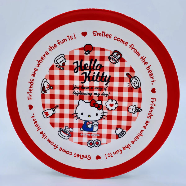 Hello Kitty Melamine Dish Plate