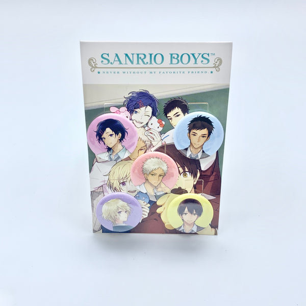 Sanrio Boys 5-Piece Pin Set