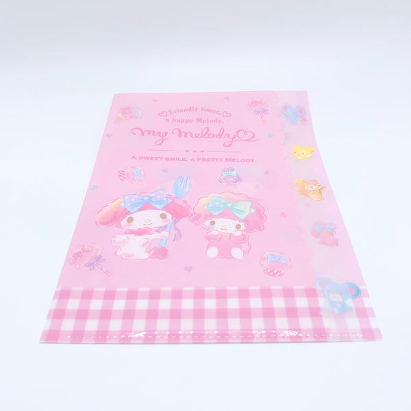 My Melody Clear File w/ Index