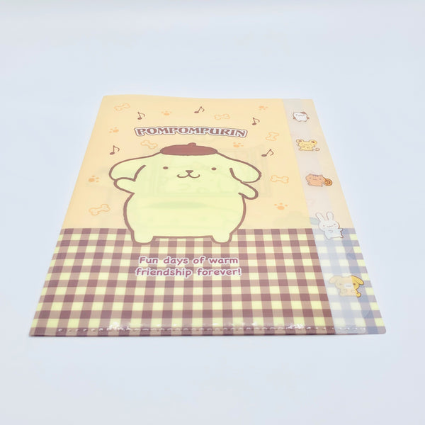 Pompompurin Clear File w/ Index